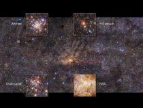 NASA разгадало загадку «космической конфеты» вцентре Млечного Пути