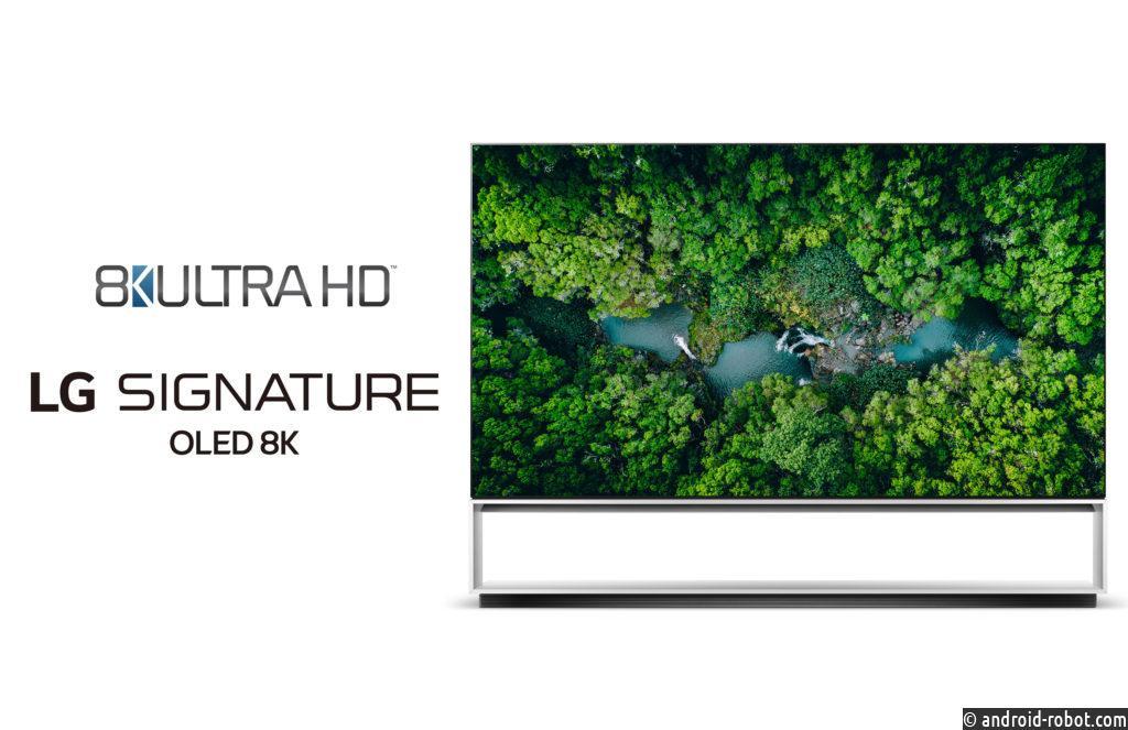 Телевизоры LG превзошли стандарт разрешения 8K ULTRA HD