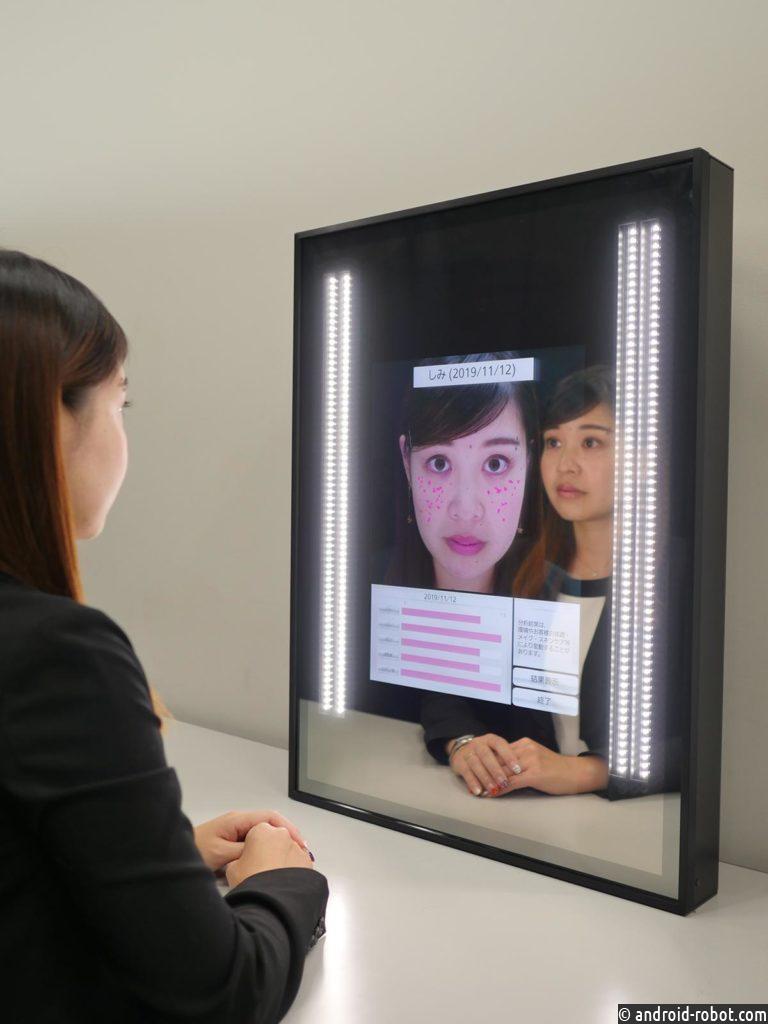 «Зеркало Белоснежки» от Panasonic начнет давать советы посетителям концепт-стора KOSÉ