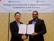 LG и Microsoft представили результаты сотрудничества в сфере B2B
