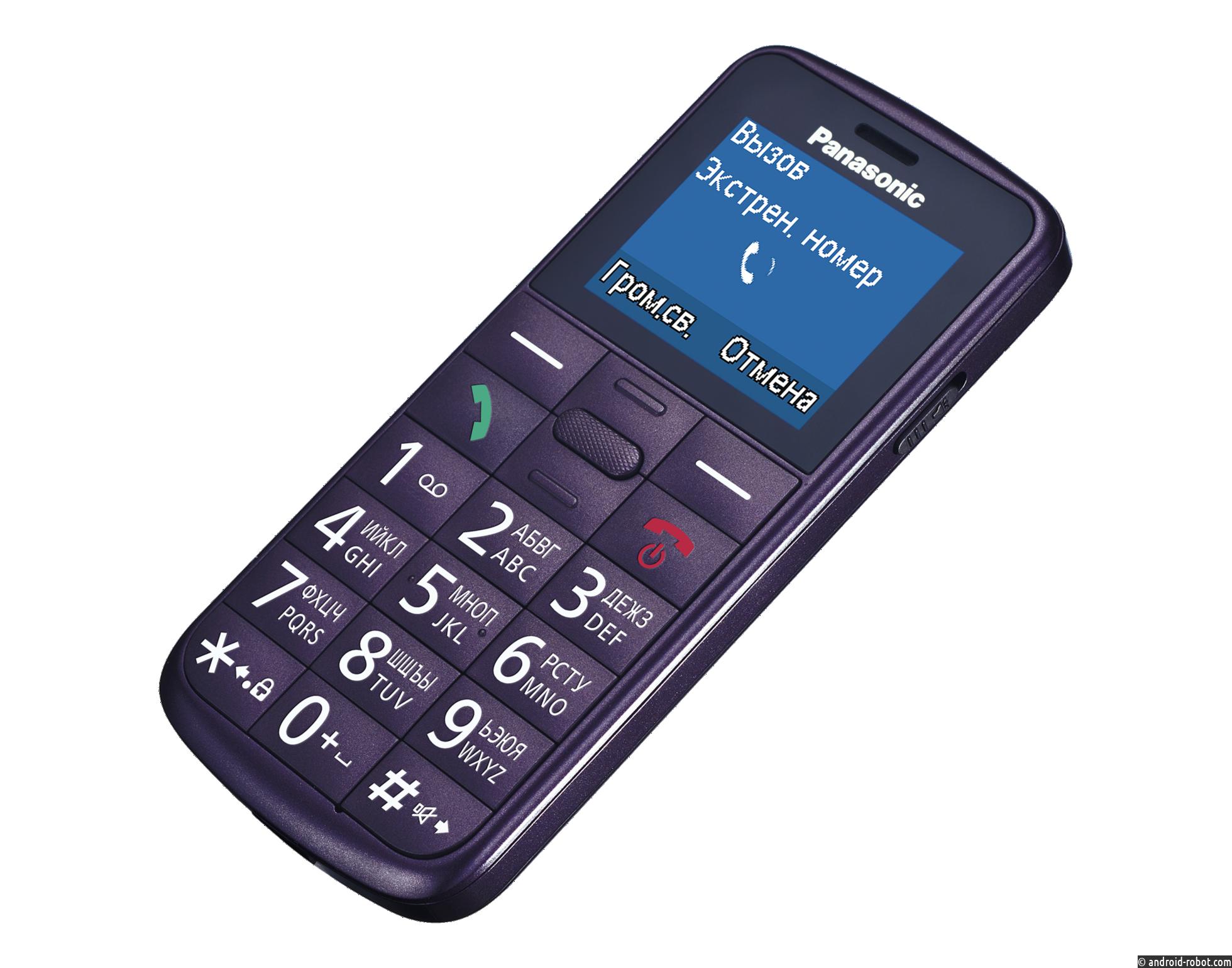 Panasonic выводит на российский рынок сразу две новые модели мобильных телефонов