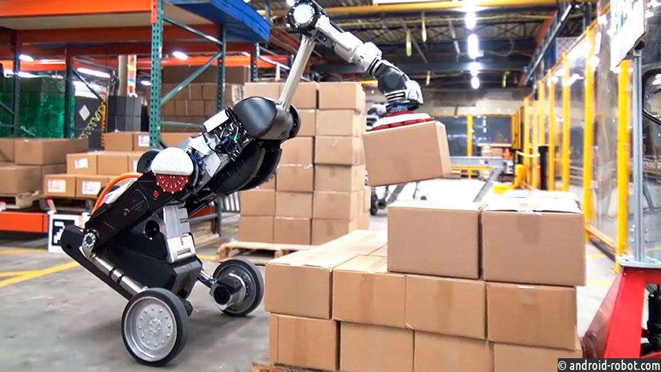 Boston Dynamics робот handle