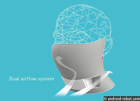 Футуристическая маска AiryTail от Panasonic поможет очистить воздух