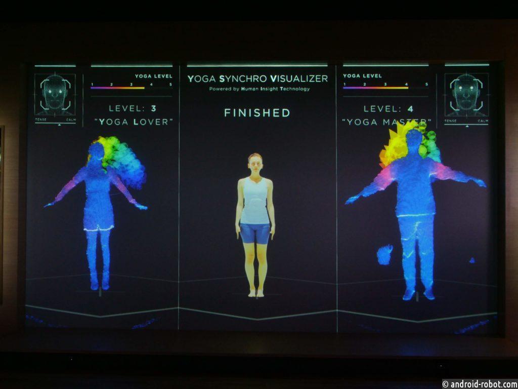 Panasonic создал виртуального йога-тренера