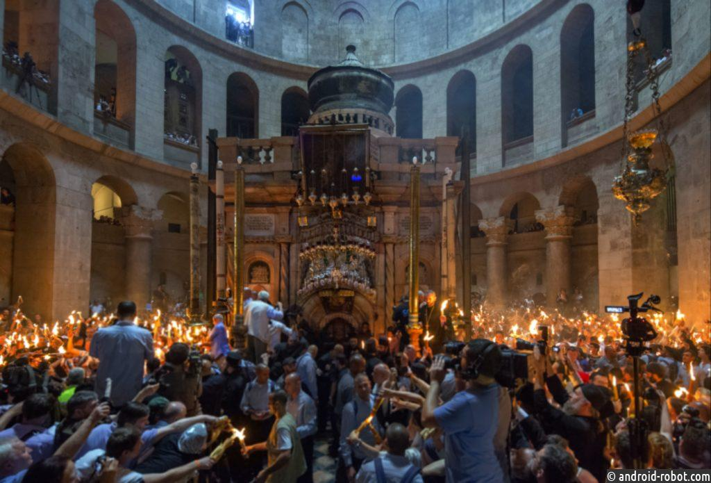 В этом году церемония схождения Благодатного огня состоится 18 апреля