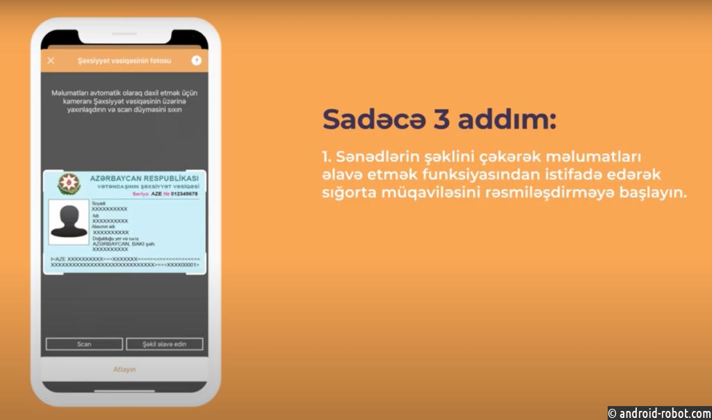 Smart IDReader распознает документы в мобильном приложении азербайджанского страхового брокера «Odlar Yurdu»