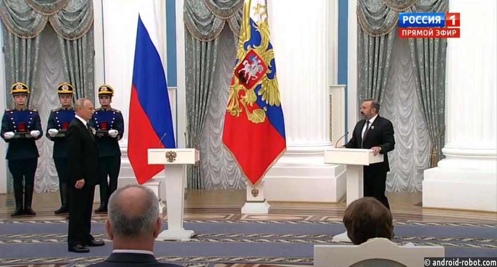 Владимир Путин вручил сотрудникам BIOCAD Государственную премию в области науки и технологий