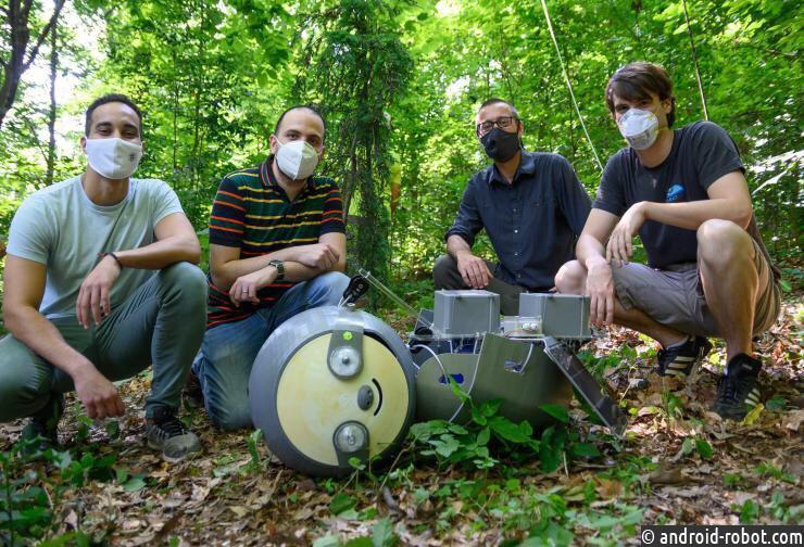 Представлен исследователь робот-ленивец SlothBot