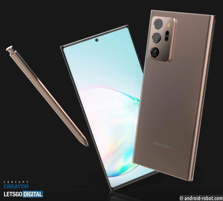 Samsung Note 20 - новая топ-модель в линейке Galaxy