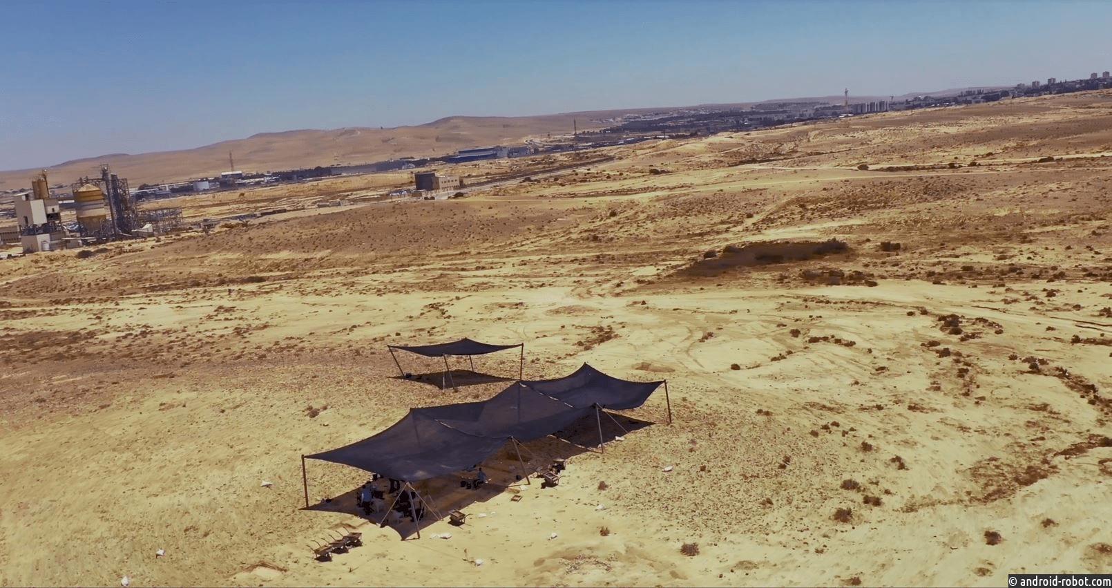 Управление древностей Израиля обнаружило в пустыне Негев находку, имеющую важное историческое значени