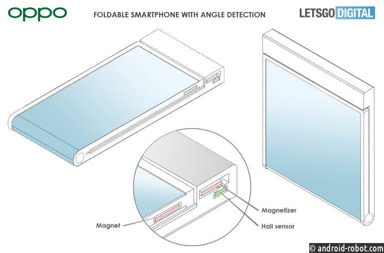 Oppo разрабатывает компактный складной смартфон с гибким экраном