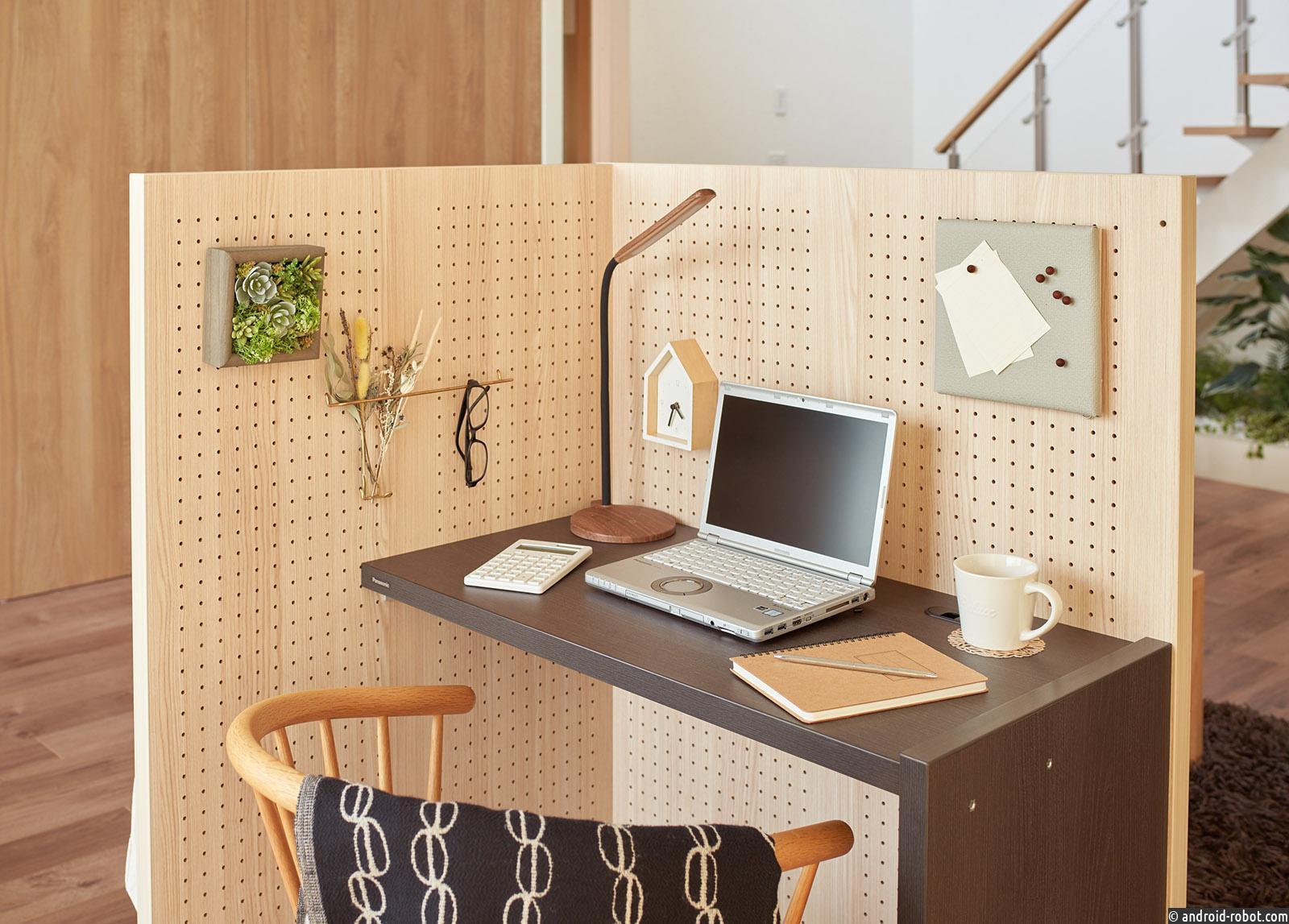 Panasonic разработал рабочее место-конструктор для удаленной работы