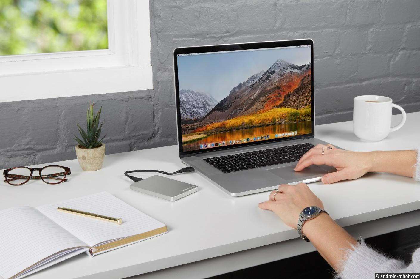 Verbatim начинает выпуск тонкого и стильного внешнего жесткого диска для пользователей MAC и PC