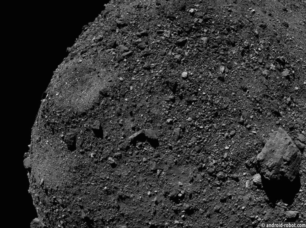 Ученые опубликовали новый снимок астероида OSIRIS-REx