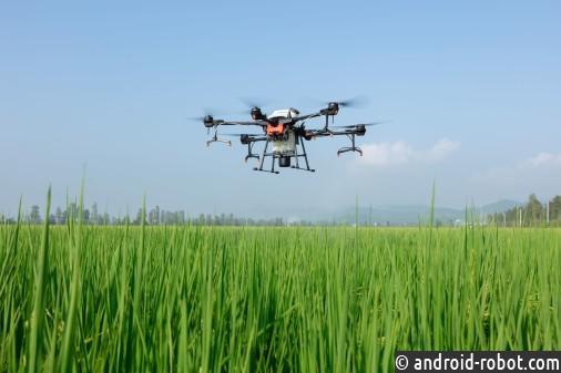DJI представила дрон AGRAS T20 для опрыскивания сельскохозяйственных культур