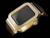 Созданы самые дорогие Apple Watch 6 в корпусе из цельного золота 750 пробы с 109 бриллиантами