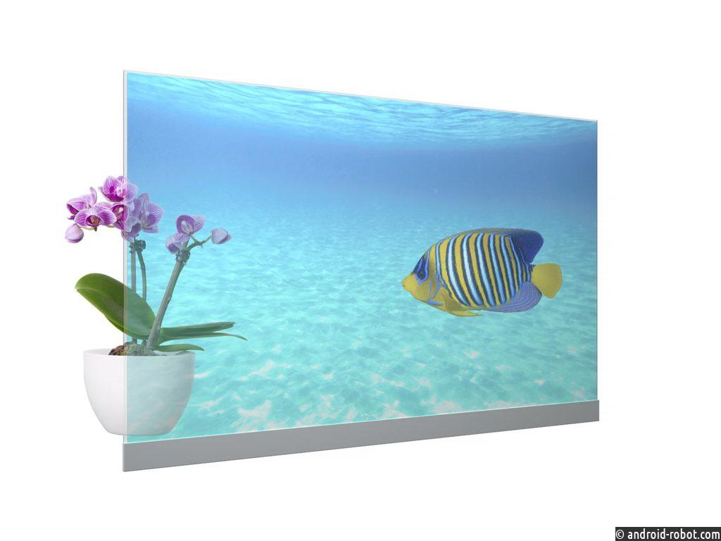 Panasonic начинает продажи прозрачного OLED-дисплея