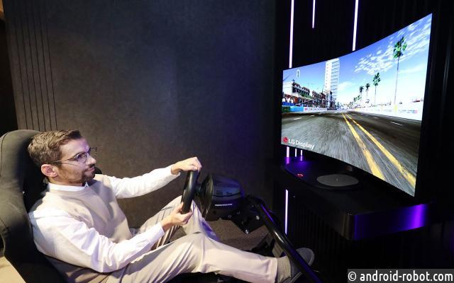 LG продемонстрирует гибкий игровой OLED-монитор на выставке CES 2021