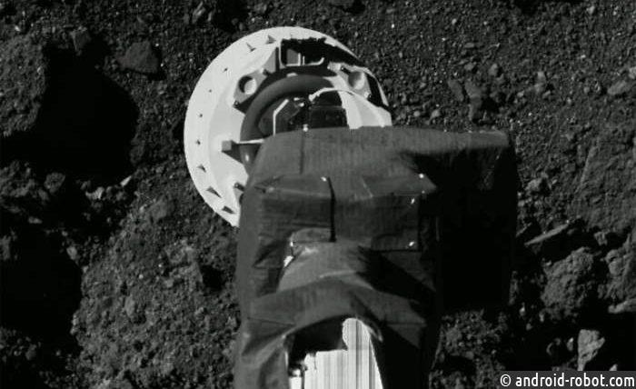 Американский зонд растерял часть грунта, собранного састероида