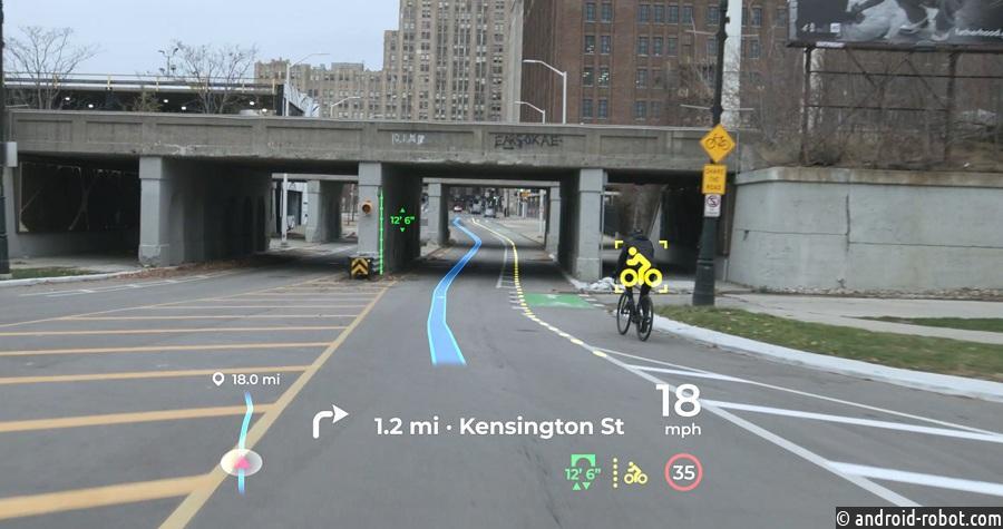 На CES 2021 представлен голографический Head-Up дисплей с искусственным интеллектом от Panasonic