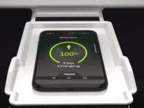 Panasonic представил беспроводную автомобильную зарядку для мобильных устройств