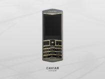 Caviar создаст драгоценный кнопочный телефон Caviar Origin на Android