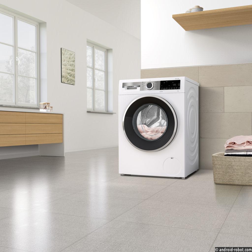 Представлена новая серия полноразмерных стиральных машин Bosch