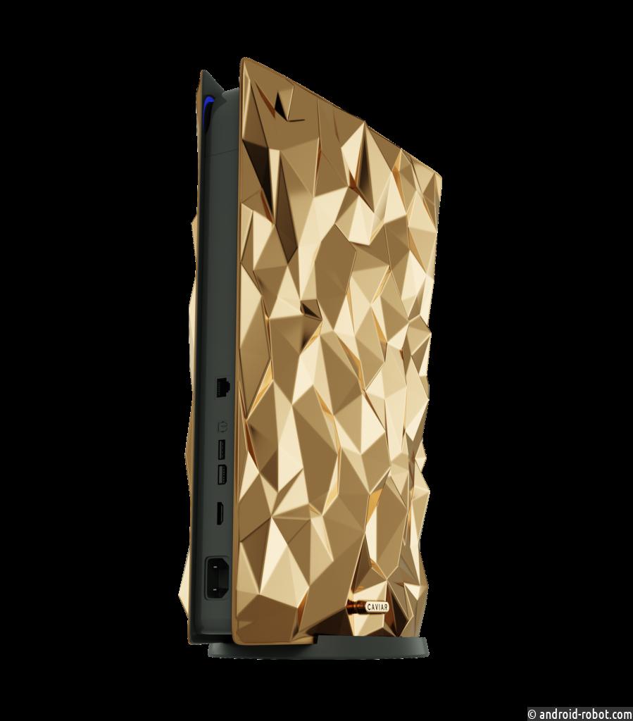 Sony Playstation 5 Golden Rock будет стоить 38 000 000 рублей