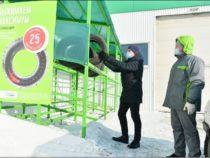 KAMA TYRES: АЗС «Татнефть» запустил экологичный проект по приему шин