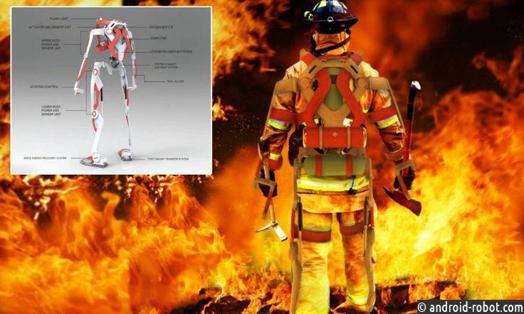 В Китае разработаны экзоскелеты для пожарных