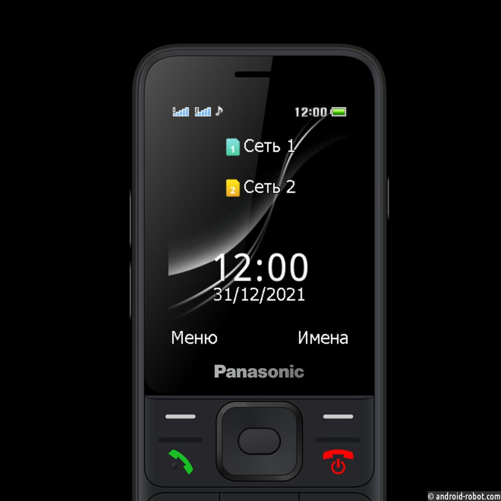 Panasonic представил в России новый мобильный телефон