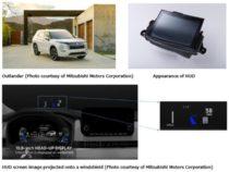 Panasonic установил Head-Up дисплей в кроссоверы Mitsubishi