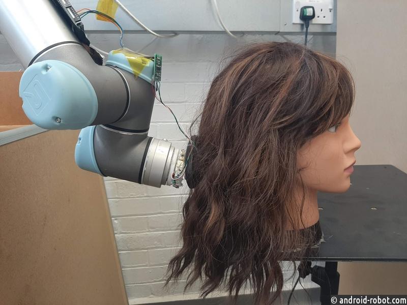 Создан робот, который поможет распутать волосы