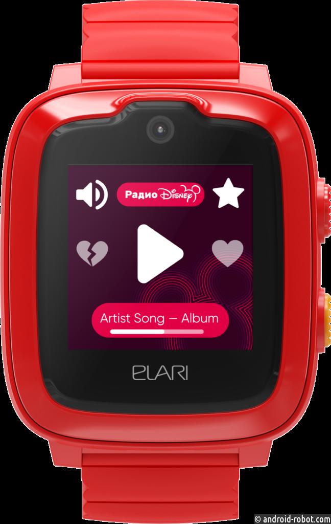 Радио Disney в часах ELARI KidPhone 4G: новые возможности детских умных часов