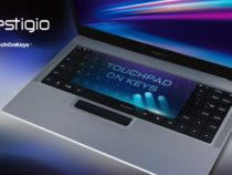 Представлен ноутбук с тачпадом, встроенным в клавиатуру