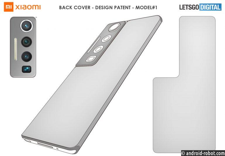 Xiaomi запатентовала три модели смартфонов с большими камерамиXiaomi запатентовала три модели смартфонов с большими камерами
