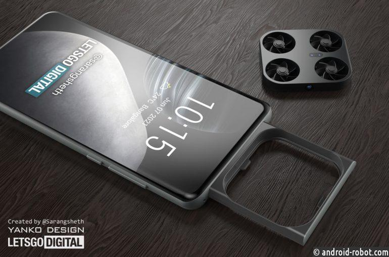 Разработан мини-дрон со встроенной камерой в смартфоне Vivo