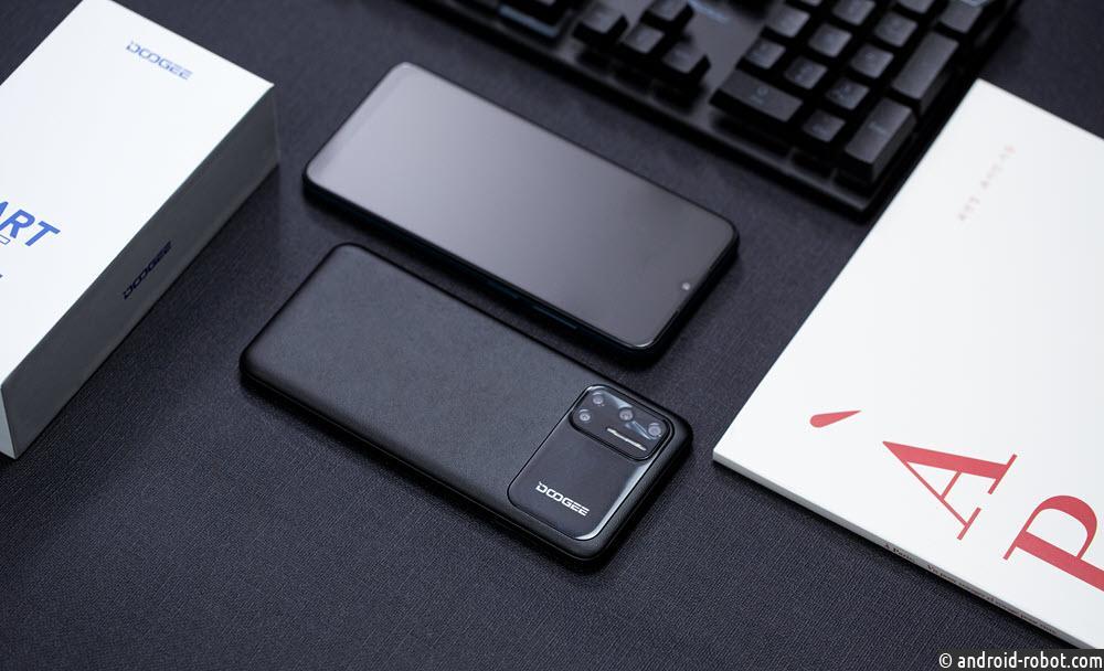 Представлен сверхтонкий и сверхлегкий смартфон N40 Pro от DOOGEE