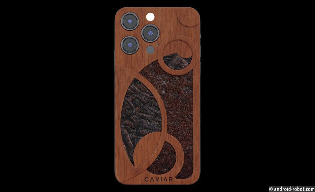 Caviar создаст коллекцию ароматных iPhone из настоящего кофе, ванили, роз, ромашек и васильков