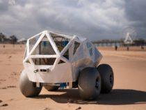 Разработан робот убирающий окурки на пляже