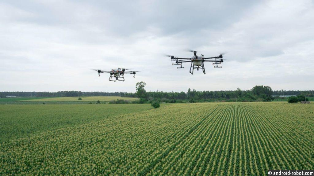DJI представила дроны Agras T30 и T10 на международном рынке