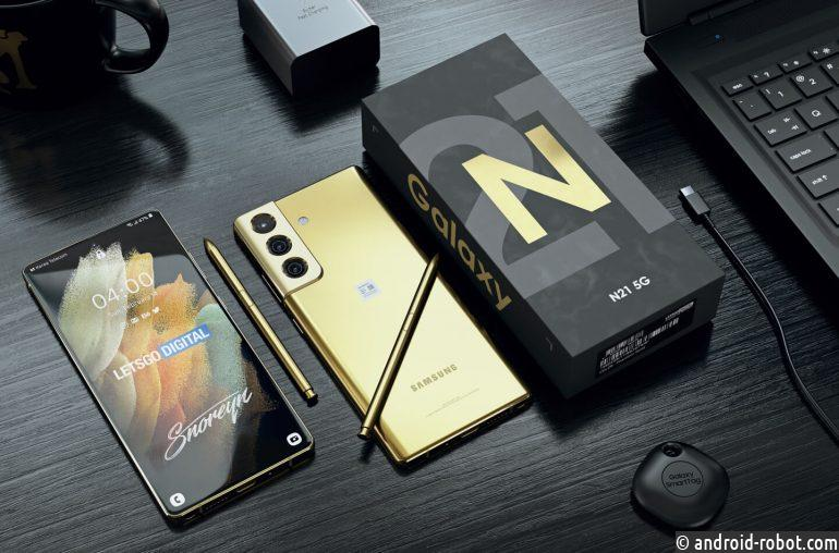 Samsung Galaxy Note 22 выйдет в 2022 году
