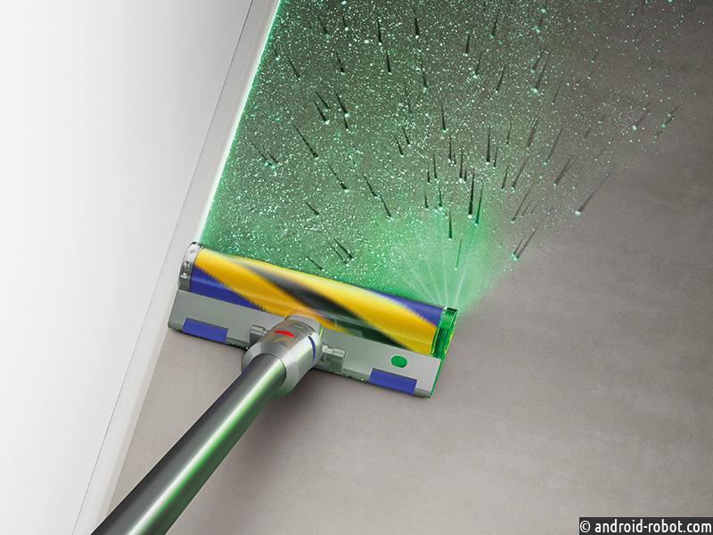 Dyson представляет новую линейку пылесосов с технологией лазерного обнаружения невидимой пыли