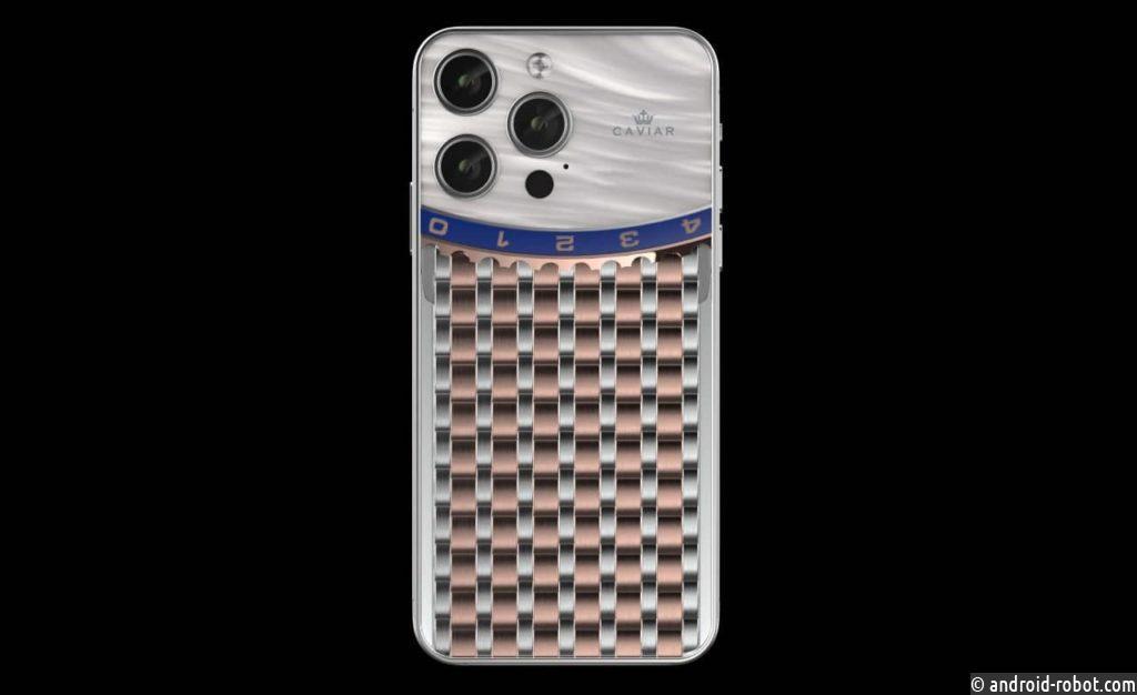Сaviar выпускает в продажу новую кастомизированную коллекцию iPhone 13 Pro для владельцев Rolex