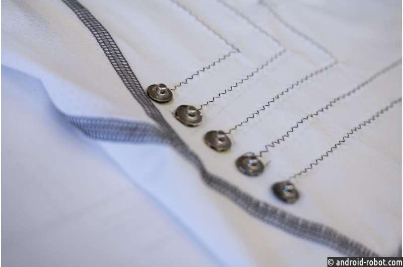 """Разработана """"умная"""" одежда из наноматериалов, собирающая ЭКГ"""