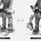 Новый экзоскелет от Panasonic трансформируется в багги